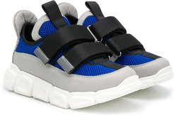 TEEN colour-block chunky sneakers - Blue