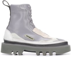 Hybrid ankle boots - Grey