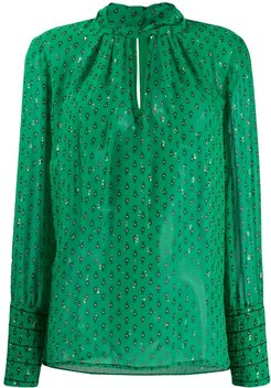 Cabri printed blouse - Green
