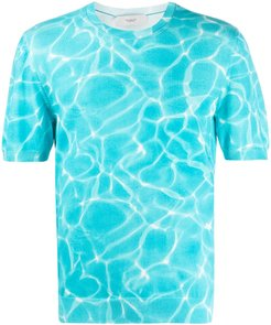 Water Reflections T-shirt - Blue
