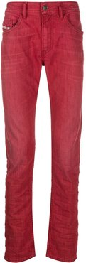 Thommer low-rise slim-fit jeans - Red
