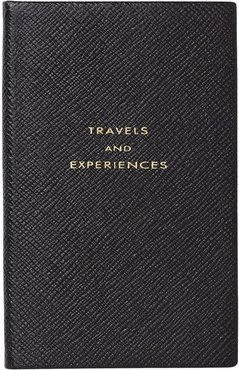 Travel and Experiences notebook - Black