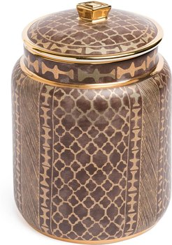 Fortuny canister - Brown