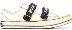 Vulcanized touch strap sneakers - Neutrals