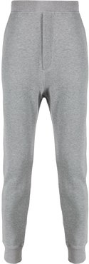 tapered track pants - Grey