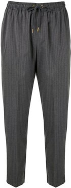 Crystalline tapered trousers - Grey