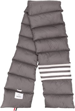 padded 4-Bar scarf - Grey