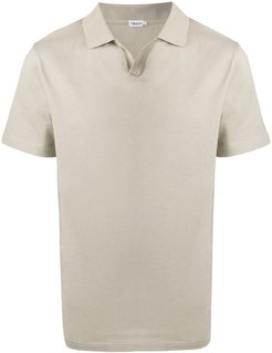 solid-color polo shirt - NEUTRALS