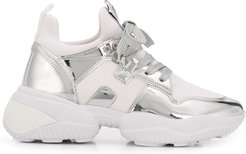 Interaction high-top sneakers - White