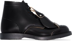 HP safety toe tag boots - Black