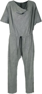Fiji waist-tied jumpsuit - Grey