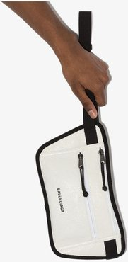 white Weekend leather cross body bag
