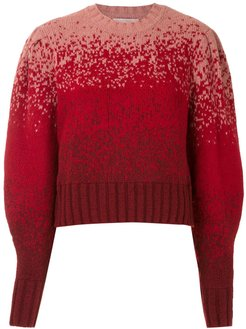 knitted Margaret blouse - Red