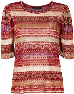 knitted Sandy blouse - Red