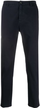 slim-fit trousers - 146 - NAVY
