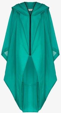 Air long oversized cape