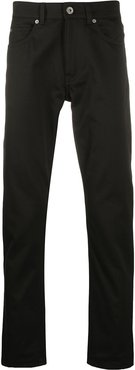 slim-fit five-pocket jeans - Black