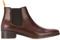 ankle length elasticated boots - Brown