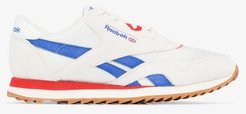 white, blue and red Ripple sneakers