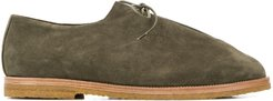 x Jacques Soloviêre Ray lace-up desert shoes - Green
