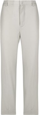 cropped chino trousers - Grey