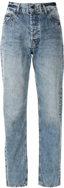 vintage faded style jeans - Blue