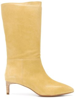 Clarys mid-calf length boots - Yellow