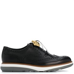 Medusa lace-up brogues - Black