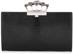 ring handle clutch - Black