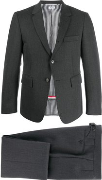 two-piece suit and tie - Grey