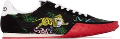 Move low top tiger sneakers - Black