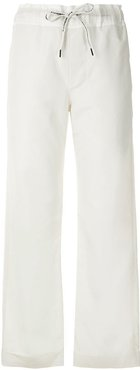 Casual straight trousers - Neutrals