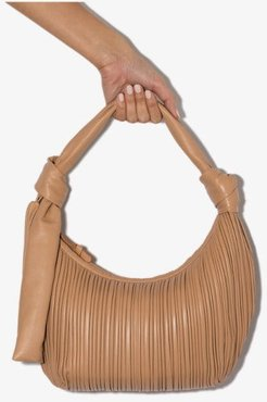 beige Neptune leather shoulder bag