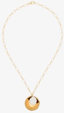 gold-plated The Jaja pearl necklace