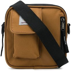multi-pocket crossbody bag - Brown