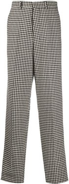 wide-fit trousers - Black