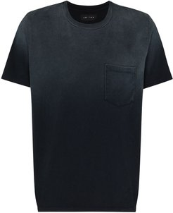 ombré-effect T-shirt - Blue