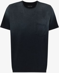 ombré chest pocket cotton T-shirt
