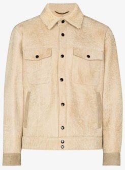 Cervino suede and shearling jacket