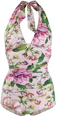 floral print swimsuit - PINK