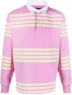 Ranger rugby polo shirt - PINK