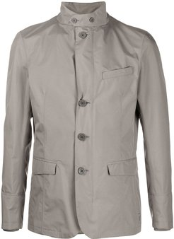 tailored technical blazer - Grey