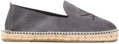 Palm Springs embroidered espadrilles - Blue