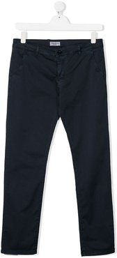 TEEN classic chino trousers - Blue