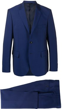 formal single breasted suit - Blue