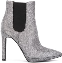 Brielle glitter ankle boots - SILVER