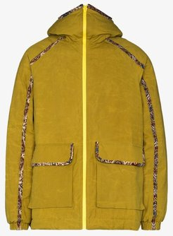 Close up Olivine hooded jacket