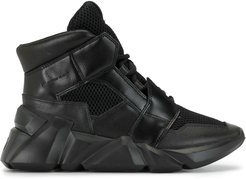 high-top sneakers - Black