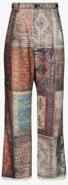 Personal patchwork trousers