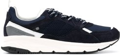 Runner suede sneakers - Blue